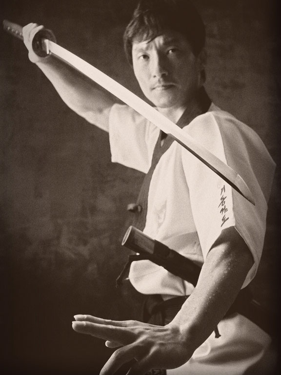Photo of a Master demonstrating Spirit