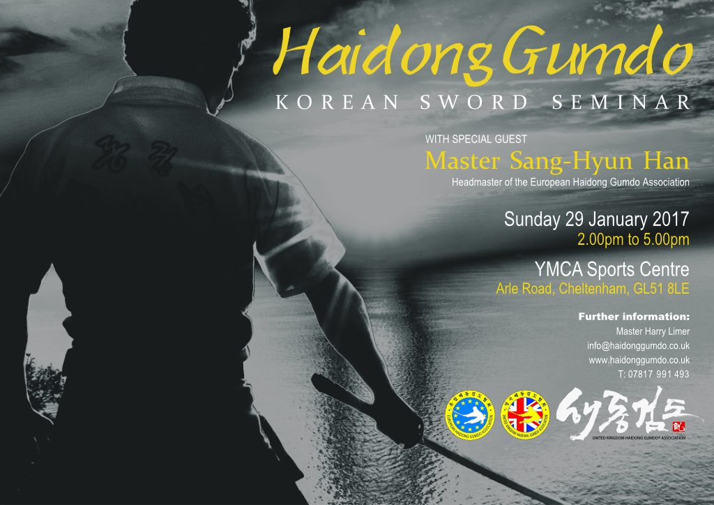 Master Han UK Seminar Poster 29 Jan 2017